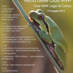 Locandina Festa Oasi 2013